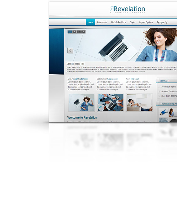 Revelation Joomla Template