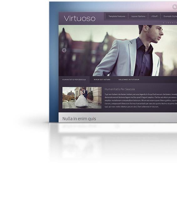 virtuoso joomla template