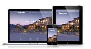 Beaumont - An Elegant and Professional Joomla template