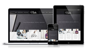Nadia - A Contemporary Joomla Template
