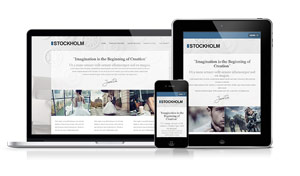 Stockholm - A clean and elegant design for your project